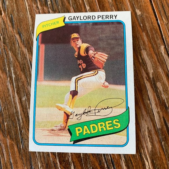 FREE🔥🔥 w/ purchase!  Topps 1980 Gaylord Perry